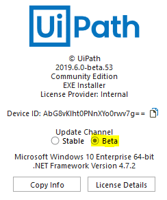 UiPath 2019 6 Beta is now available! - News - UiPath Community Forum