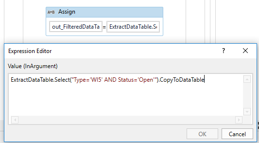 Filter Data table not working - RPA Dev Rookies - UiPath Community Forum