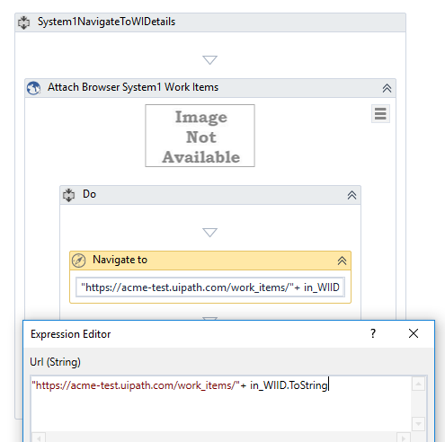 Level 3 Assignment 2 - System1 Navigate To WI Details xaml - Academy