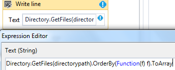 How to sort files when copied from one folder to another - RPA Dev