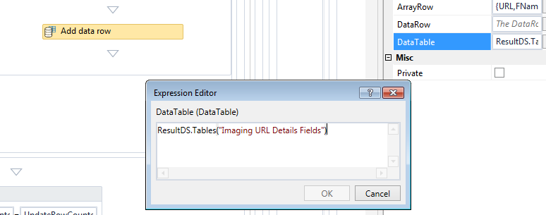Receiving runtime Error while adding row in the table