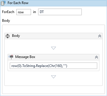 Removing blank space from string - RPA Dev Rookies - UiPath