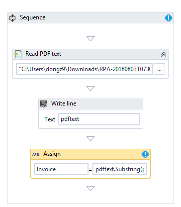 Extract text from PDF - RPA Dev Rookies - UiPath Community Forum