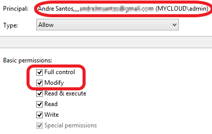 Problem with File Attributes Permission on WD My Cloud EX2