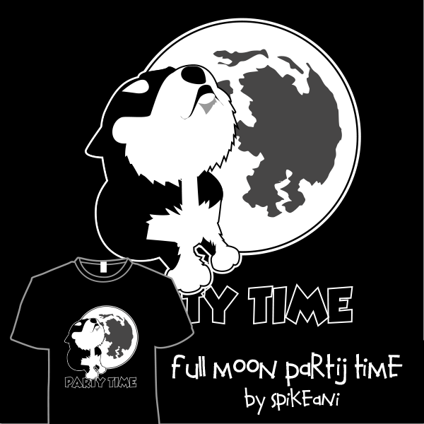 Full moon party time