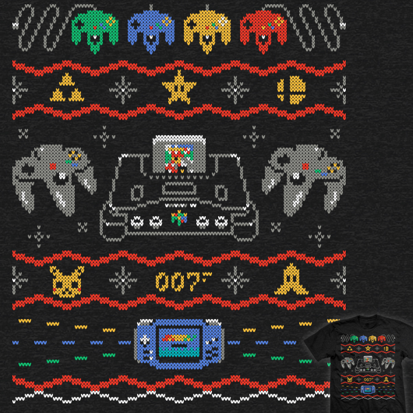Ugly Gaming Sweater 64