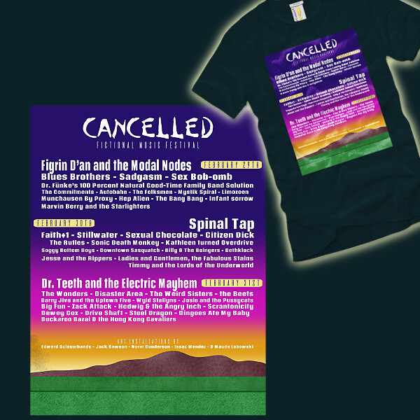 Cancelled Fictional Music Festival