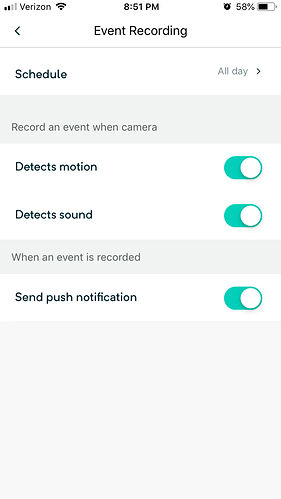 Cam Pan Motion detection Not Working - Ask the Community