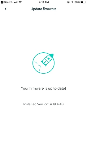 Stuck in 4 19 4 48 Firmware, Can't Update - Beta - Wyze
